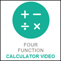 Four Function Calculator Video