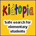 Kidtopia - safe searching for students in elementary school